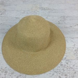 Talbots PAPER STRAW WIDE-BRIM SUN HAT